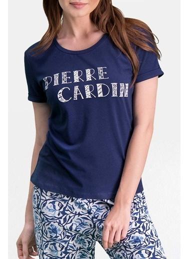Pierre Cardin Pierre Cardin Lacivert Kadın Pijama Takımı Lacivert